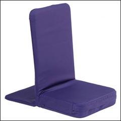 Sedia da meditazione blu notte