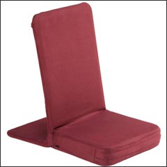Sedia da meditazione rubino