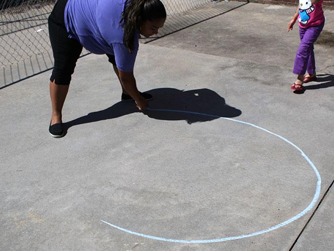 Cerchio per terra
